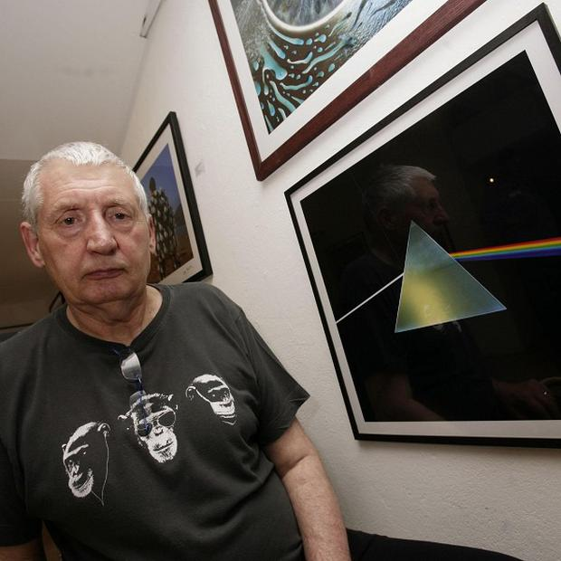 Storm Thorgerson created the artwork for Pink Floyd's The Dark Side of the Moon