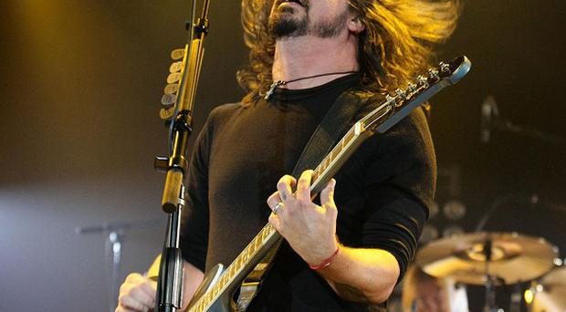 Dave Grohl of the Foo Fighters was overwhelmed after meeting Rush's drummer