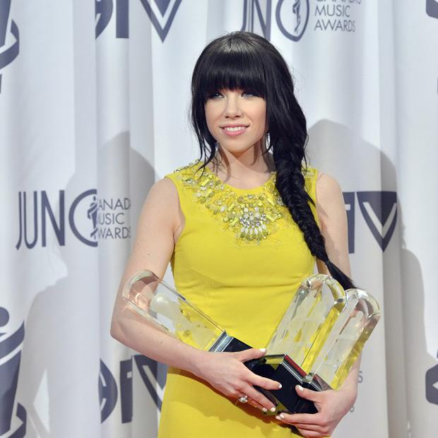 Carly Rae Jepsen was a big winner at the Juno Awards