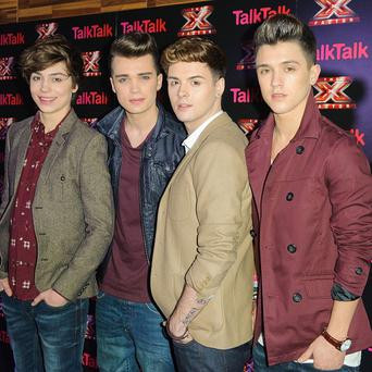 Union J are hoping for a number one