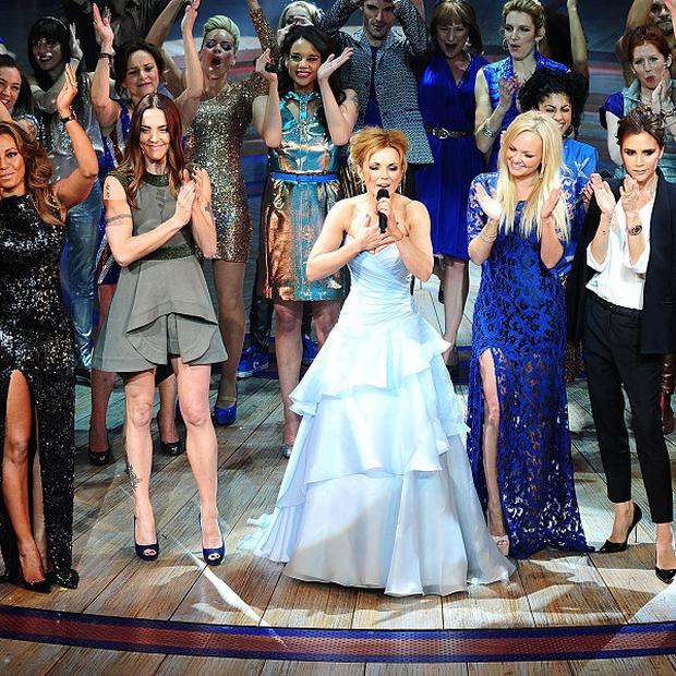 The Spice Girls' Spiceworld album is on the list of costly records