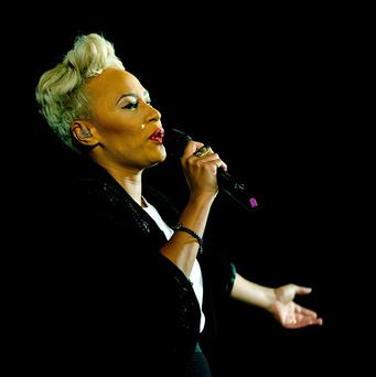 Emeli Sande is in the running for the Scottish Album of the Year award