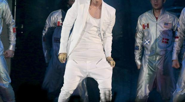 Justin Bieber showed off his new tattoos in Stockholm