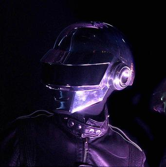 Daft Punk have claimed their first UK number one single - 20 years after they formed