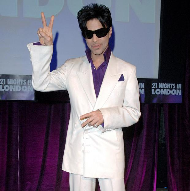 Prince is coming back to tour in the UK