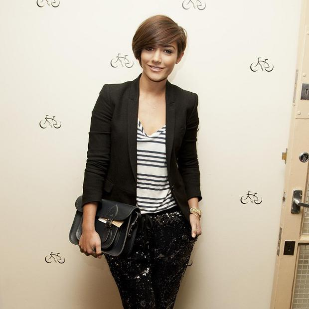 Frankie Sandford is expecting her first baby