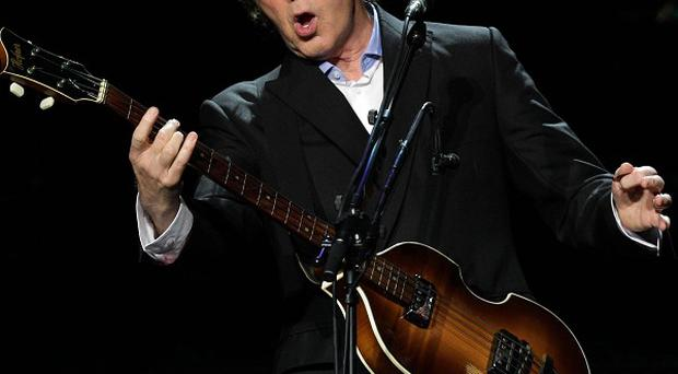 Sir Paul McCartney has opened his new world tour in Brazil