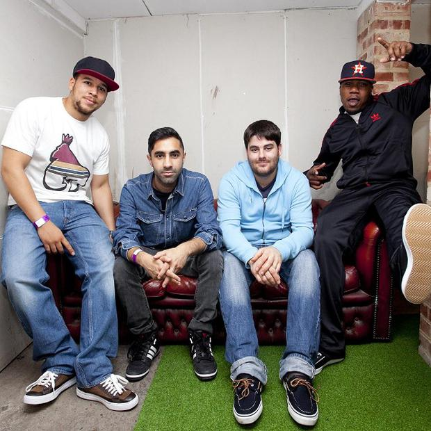 Rudimental have gone straight to number one with their album Home