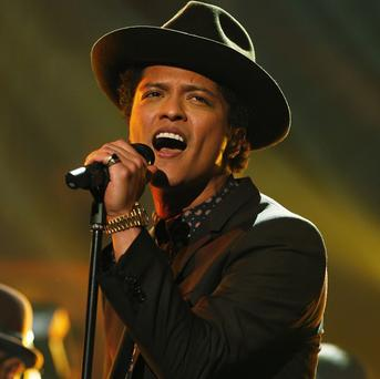 Bruno Mars will be one of the headline acts at the Radio 1 Big Weekend event