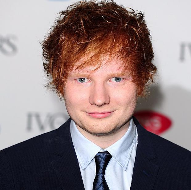 Ed Sheeran wants to concentrate on his own album, rather than writing for other people