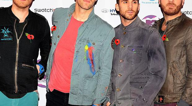 Coldplay have been named best British act by music charity Nordoff Robbins