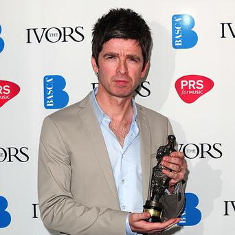 Noel Gallagher joked his Ivor Novello award helped prove he was a songwriter