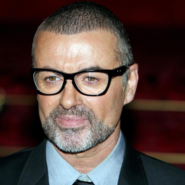 George Michael was airlifted to hospital following the accident