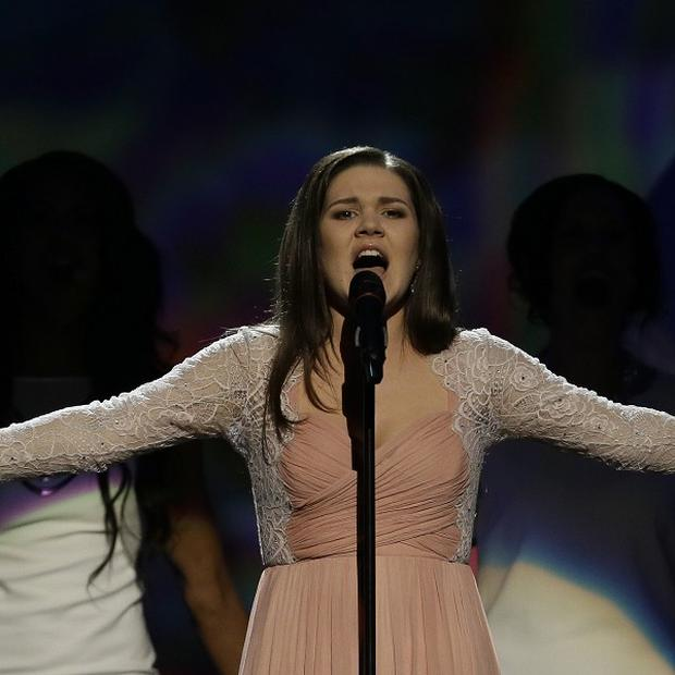 Dina Garipova of Russia finished fifth in the Eurovision Song Contest 2013