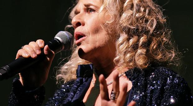Carole King performs during an event to honour her with the Gershwin Prize for Popular Song (AP/Alex Brandon)