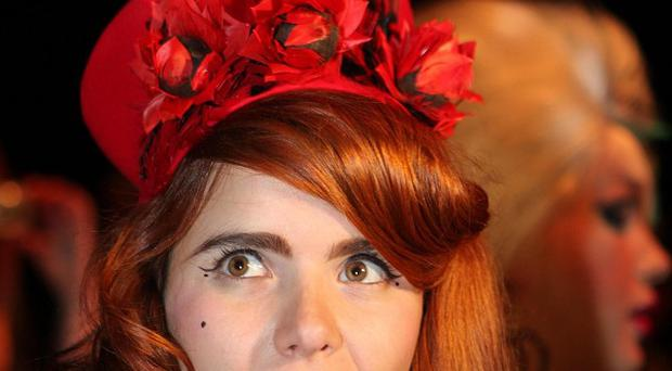 Paloma Faith dedicated a song to Sir John Madejski after he stormed the stage at her gig