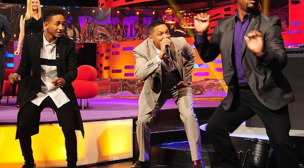 Will Smith was reunited with his Fresh Prince co-stars on the Graham Norton Show