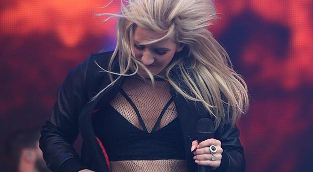 Ellie Goulding performs at Radio One's Big Weekend