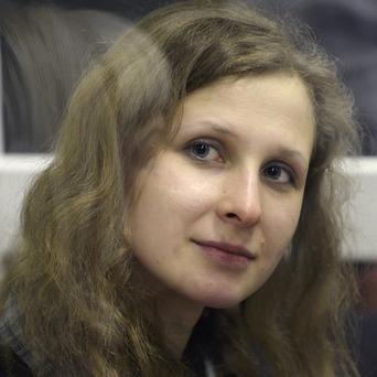 Maria Alekhina has been on a hunger strike for several days