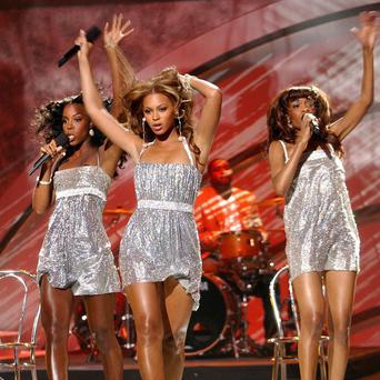 Kelly Rowland, Michelle Williams and Beyonce worked together on Kelly's track