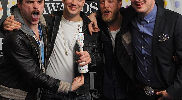 Mumford and Sons are starting to get nervous about their Glastonbury gig