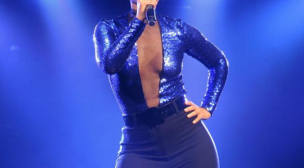Alicia Keys performed her hits at the O2 in London