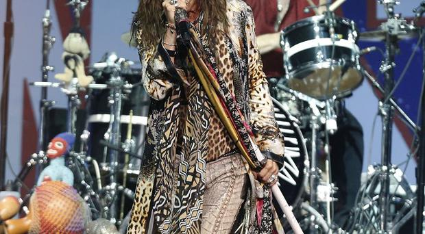 Aerosmith took part in the Boston Strong Concert
