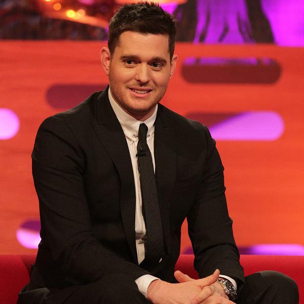 Michael Buble will be a guest on The Voice live shows