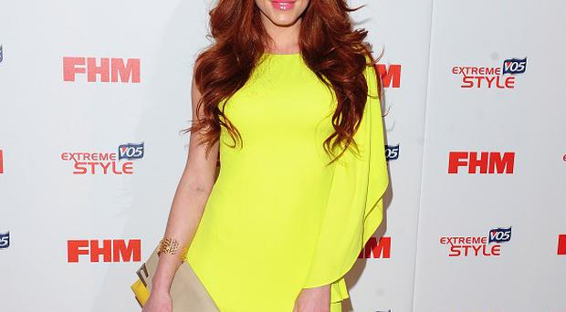 Natasha Hamilton said she's thrilled to have landed a role in Rent