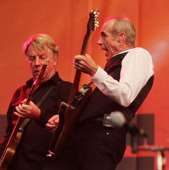Status Quo have released their 100th single