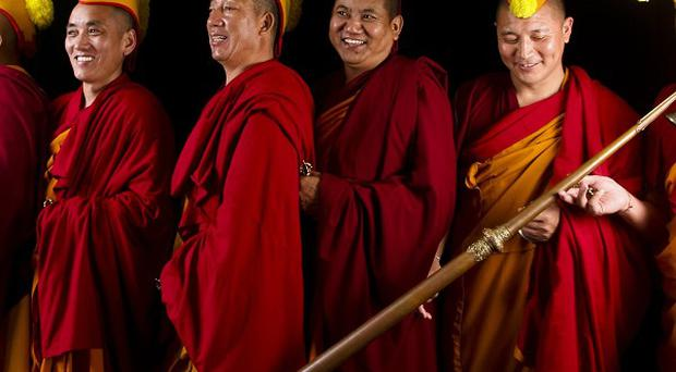 The Gyuto Monks who have landed a record contract with Decca and have been invited to perform at Glastonbury Festival