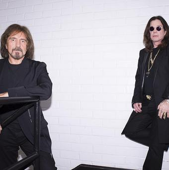 Black Sabbath are headed for number one in the charts