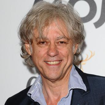 Bob Geldof hinted he may join Bon Jovi on stage at the Isle of Wight festival