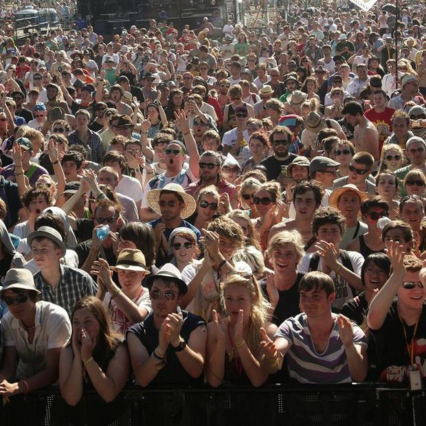 Glastonbury revellers are being urged to 'drink much less' this year
