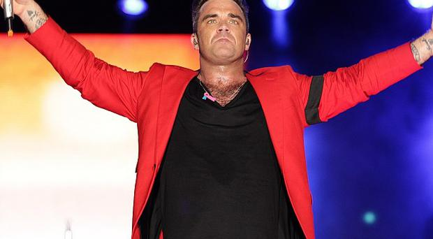 Robbie Williams said nature is taking its course when it comes to his body