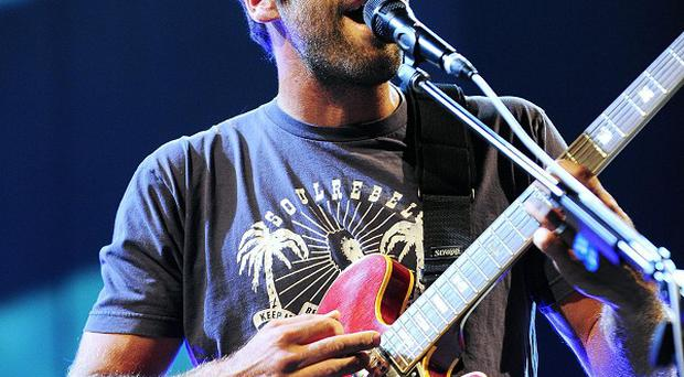 Jack Johnson dedicated his set to Mumford and Sons