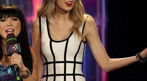 Taylor Swift at the MuchMusic Video Awards in Toronto