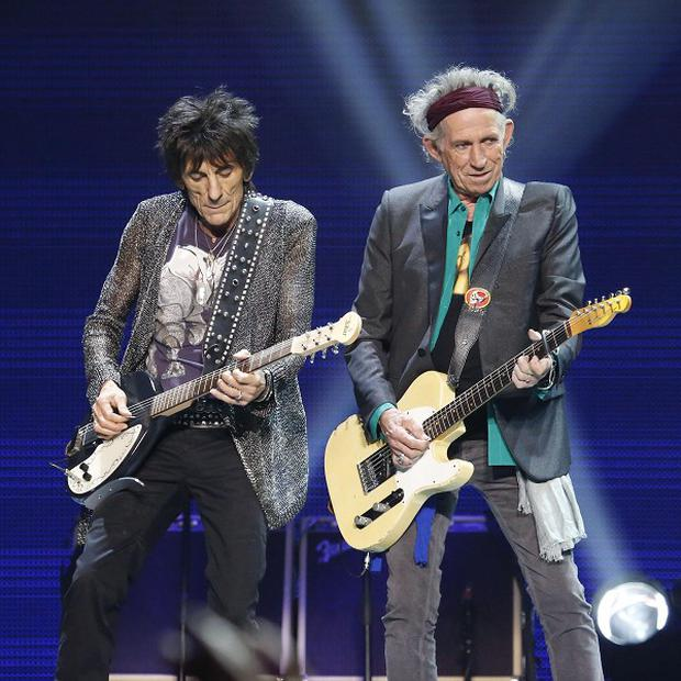 Keith Richards wants the Rolling Stones to keep on rocking