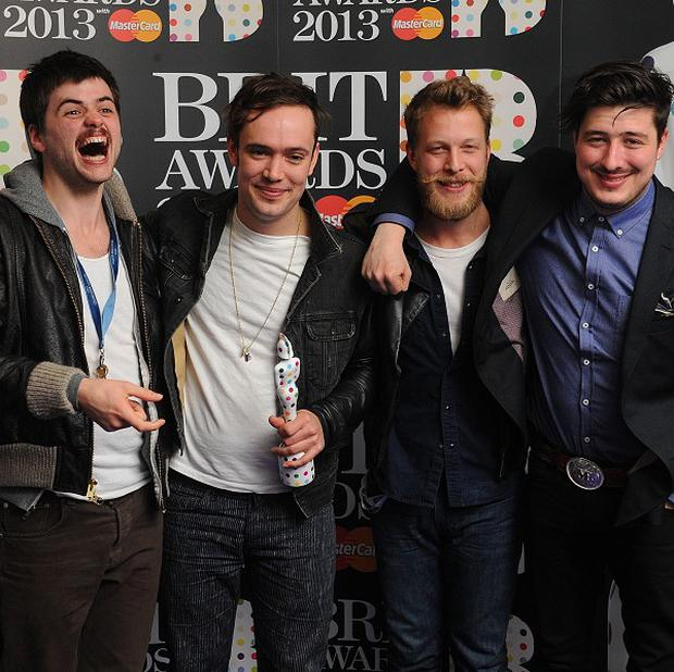 Mumford and Sons are headlining Glastonbury Festival this year