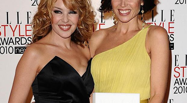 Kylie Minogue has helped sister Dannii with mentoring on The X Factor Australia