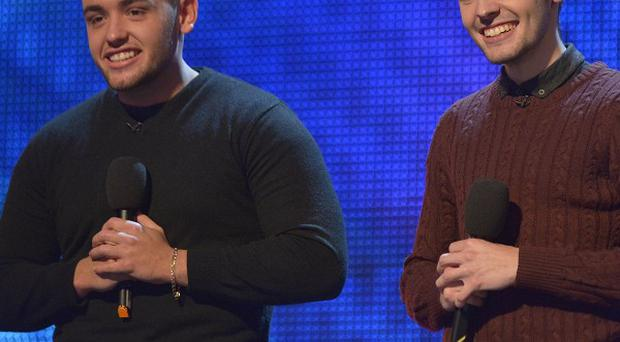 Richard and Adam Johnson have signed a record deal after their success on Britain's Got Talent