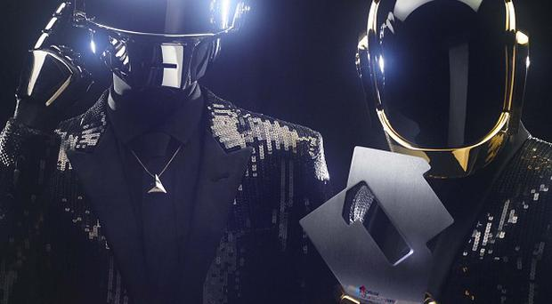 Daft Punk have sold over a million copies of single Get Lucky