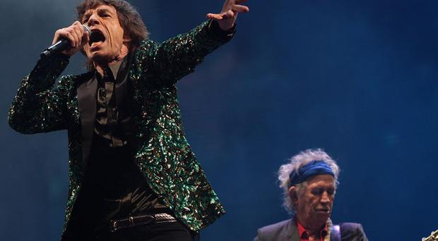 Saturday Night was the first time the Rolling Stones had played Glastonbury