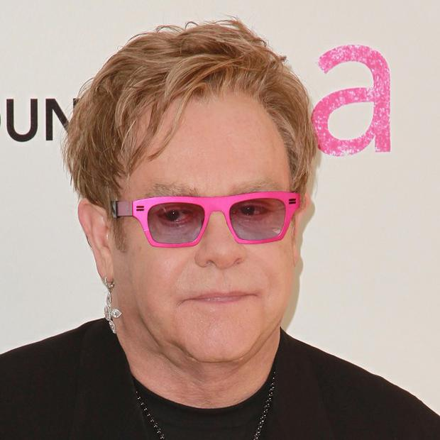 Sir Elton John said The Voice is all about watching the judges