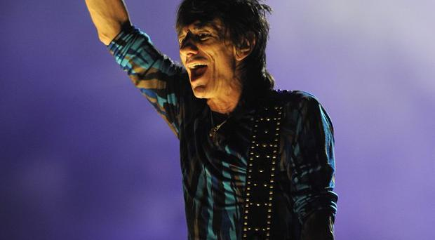 Ronnie Wood met up with Prince Harry at Glastonbury