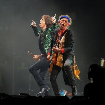 Keith Richards said Mick Jagger would only decide the final set list for their Hyde Park gig before the show started