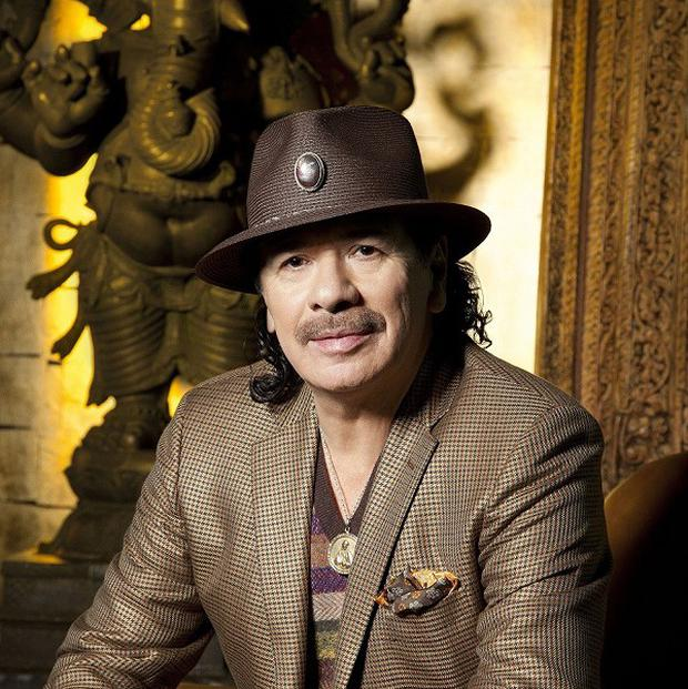 Carlos Santana is set to tour the UK