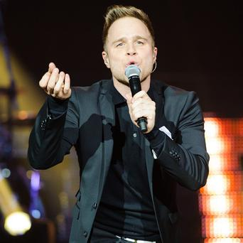 Olly Murs has been supporting Robbie Williams on tour
