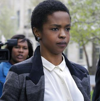Lauryn Hill has started serving a three-month prison term in Connecticut for tax evasion (AP)