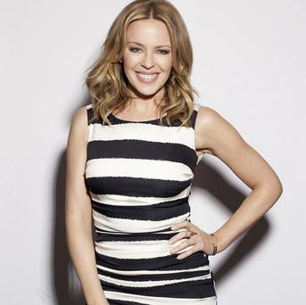 Kylie Minogue dated Michael Hutchence in the early 90s